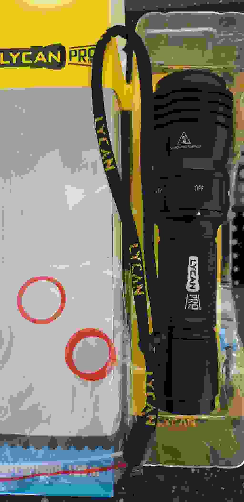 라이칸 프로1200 해루질 써치 100m 방수 다이빙 랜턴 직진형  리뷰 후기