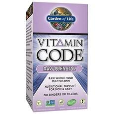 Garden of Life 비타민코드 로우 임신부 90개입 베지테리안 캡슐