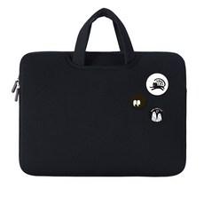 디스트 스윗멜로우 노트북 가방 추천, 블랙