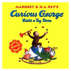 Curious George Visits a Toy Store Paperback 2002년 08월 26일 출판