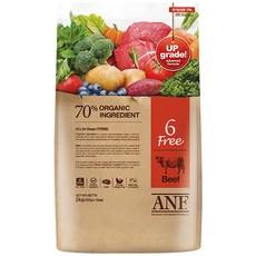 ANF 전연령 식스프리 소고기 건식사료, 6kg, 1개