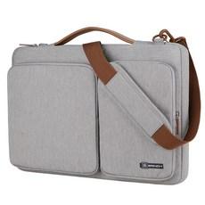 BRINCH 캐주얼 노트북가방 NT-1000, 그레이, 15.6in