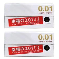 사가미 오리지날001 초박형 콘돔, 3개입, 2개