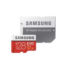 삼성전자 EVO PLUS 마이크로SD 메모리카드 MB-MC128HA/KR, 128GB