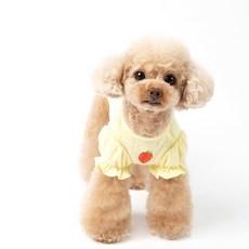 펫츠랜드 러블리 레이스 샤랄라 딸기 반려동물 티셔츠
