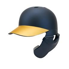 18.44 우타용 야구 헬멧 검투사, 네이비 + 골드