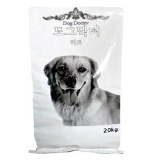 팜스코 1년 이상 도그닥터히트 강아지 사료, 곡물, 20kg