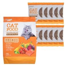 탐사 고양이 사료 연어, 3kg, 1개