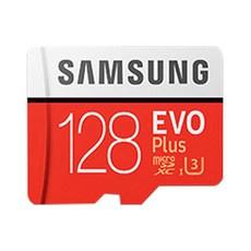 삼성전자 EVO 플러스 MicroSD 메모리카드 MB-MC128HA/KR + SD어댑터, 128GB