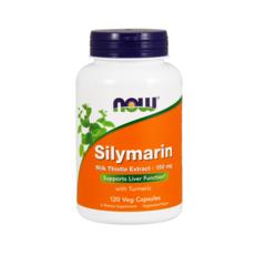 나우푸드 실리마린 밀크 시슬 추출물 터메릭 포함 150mg 120개입 식물성 캡슐
