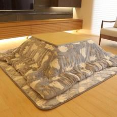 일본의 난방 코타츠 이불 히터 접이식테이블, 이불 190x190 매트세트B_코타츠 구성품