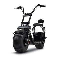 QINIU 정품 2021년 신형 x60 xpro 할리 고급형 미국식 전동스쿠터 방수커버 증정 웰라이프 추천, 블랙