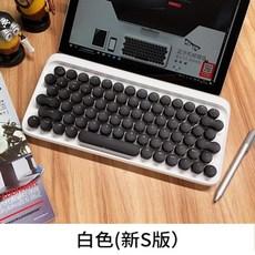 무선 기계식 맥북 로프리 맥용 키보드, 공식 표준, 흰색 키보드