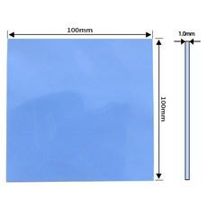 쿨러 써멀패드 Thermal Pad 쿨링 방열 열전도패드 100 x 1.0mm