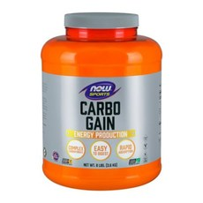 Now Foods Carbo Gain 100% Complex Carbohydrate (63 Servings)