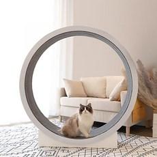 고양이운동기구 런닝머신 장난감 쳇바퀴 캣워크 캣휠 고양이용품 가구, 대형 캣휠
