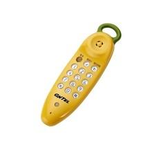 GNTEL 유선전화기 GS-620, GS-620(연노랑)