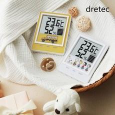 드레텍 스누피 디지털 온습도계, 화이트