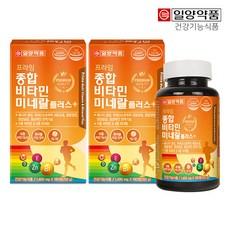 일양약품 프라임 종합비타민미네랄 플러스 180정(6개월분), 180정, 2개