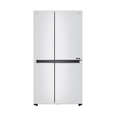 LG전자 디오스 양문형 냉장고 S833W30 821L 방문설치