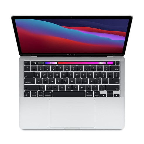 Apple 맥북프로 13 2020 실버 Z11F000AV (M1-8코어 8코어 GPU)