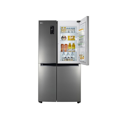LG전자 DIOS 매직스페이스 2도어 양문형 냉장고 636L S631S32